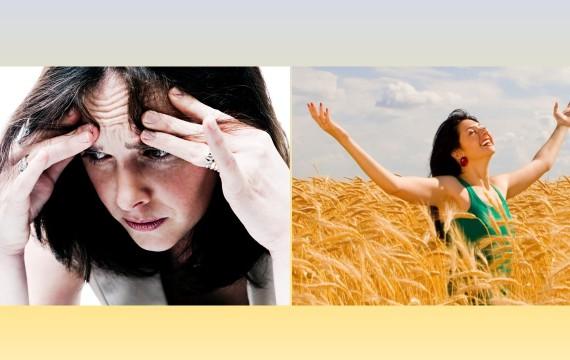 anxietate versus fericire