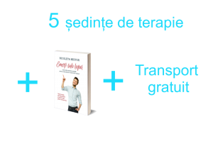 Pachetul Joy - 5 SedinteTerapie + carte